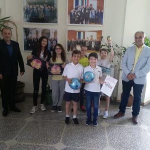 Кметът на Община Кубрат поздрави малките спортисти на МКБППМН