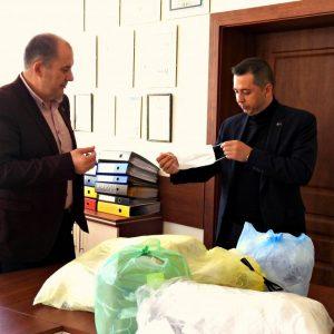Още маски за гражданите дариха от управата на Кубрат