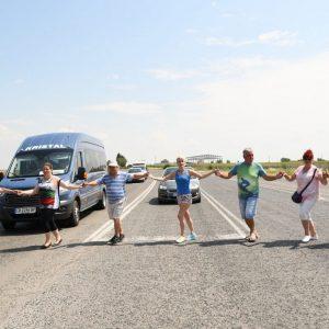 Протестиращи искат пътища, блокираха шосетата Русе-Варна и Русе-Кубрат