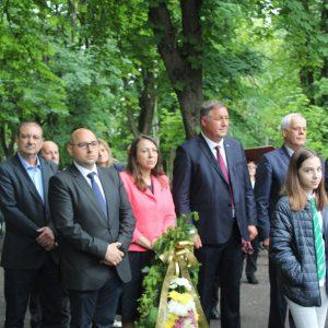 Разград отбеляза 144 години от гибелта на Христо Ботев