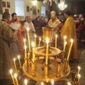 """Русенския митрополит Наум отслужи празнична литургия в църквата """"Св. Атанасий"""" в Пороище"""