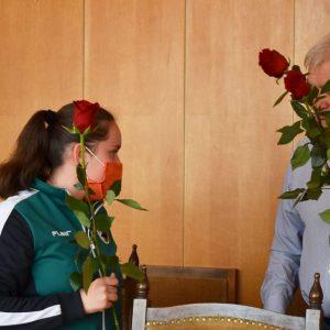 """Състезателките от СКБ""""Лютфи Ахмедов"""" спечелиха първата за Разград отборна шампионска титла по женска борба"""