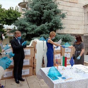 България дари защитни комплекти за борба с коронавируса на Армения и Грузия