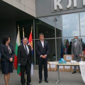 Второ българско дарение бе предадено на болниците в Сърбия за борба с коронавируса