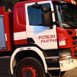 Ел. табло на къща се подпали в Разград