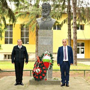 Кубрат почете паметта и делото на Христо Ботев