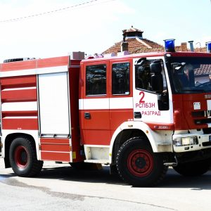 Разградските пожарникари са реагирали на 8 сигнала за пожар през последното денонощие