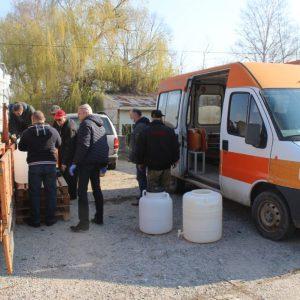 РЗИ Разград и Областна администрация Разград разпределят 2 640 литра спирт за дезинфекция за област Разград