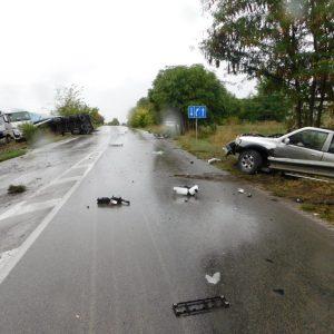 Три години затвор с пет години изпитателен срок е присъдата на шофьор, причинил по непредпазливост смъртта на двама русенци