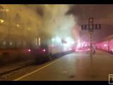 Унгарските ултраси потеглиха с влак към Разград (ВИДЕО)